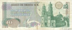 10 Pesos MEXIQUE  1977 P.063i TB