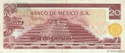 20 Pesos MEXIQUE  1972 P.064a TTB