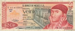 20 Pesos MEXIQUE  1973 P.064b B