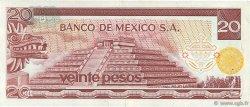 20 Pesos MEXIQUE  1973 P.064b TTB