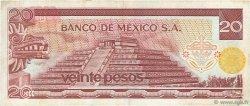 20 Pesos MEXIQUE  1976 P.064c TB