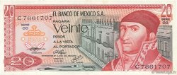 20 Pesos MEXIQUE  1976 P.064c TTB