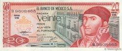 20 Pesos MEXIQUE  1977 P.064d TTB+
