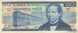 50 Pesos MEXIQUE  1976 P.065b TTB+ à SUP