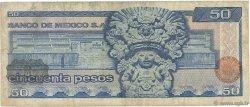 50 Pesos MEXIQUE  1978 P.067a TB