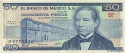 50 Pesos  MEXIQUE  1979 P.067b TB