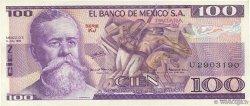 100 Pesos MEXIQUE  1978 P.068a SUP