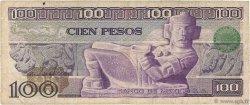 100 Pesos MEXIQUE  1979 P.068b B
