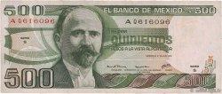 500 Pesos MEXIQUE  1979 P.069 TTB