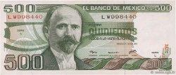 500 Pesos MEXIQUE  1979 P.069 SUP