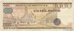 1000 Pesos MEXIQUE  1979 P.070c B+