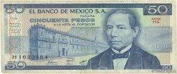 50 Pesos MEXIQUE  1981 P.073 TB
