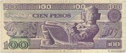100 Pesos MEXIQUE  1981 P.074b TB
