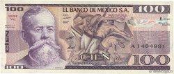 100 Pesos MEXIQUE  1982 P.074c TTB