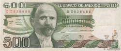 500 Pesos MEXIQUE  1981 P.075a TB