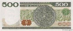 500 Pesos MEXIQUE  1981 P.075a NEUF