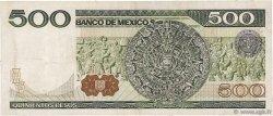 500 Pesos MEXIQUE  1982 P.075b TTB