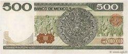 500 Pesos MEXIQUE  1982 P.075b NEUF