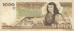 1000 Pesos MEXIQUE  1981 P.076b TB
