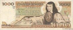 1000 Pesos MEXIQUE  1982 P.076d TB