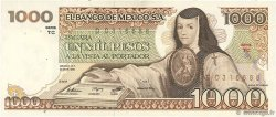 1000 Pesos MEXIQUE  1982 P.076d SPL