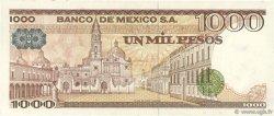 1000 Pesos MEXIQUE  1982 P.076d NEUF
