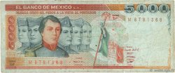 5000 Pesos MEXIQUE  1982 P.077b TB