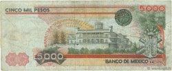 5000 Pesos MEXIQUE  1982 P.077b TB