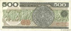 500 Pesos MEXIQUE  1984 P.079b TTB