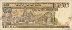 1000 Pesos MEXIQUE  1984 P.080b TB