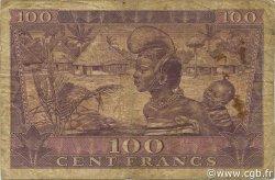100 Francs GUINÉE  1958 P.07 B