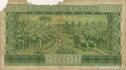 5000 Francs GUINÉE  1958 P.10 AB