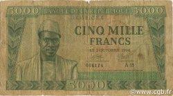 5000 Francs GUINÉE  1958 P.10 B