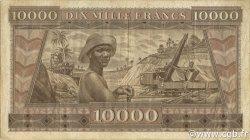 10000 Francs GUINÉE  1958 P.11 TTB