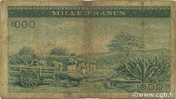 1000 Francs GUINÉE  1960 P.15a B+