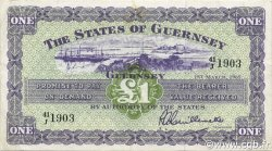 1 Pound GUERNESEY  1965 P.43b SUP