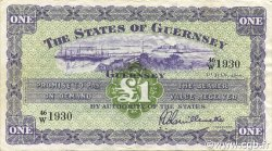 1 Pound GUERNESEY  1966 P.43c pr.SUP