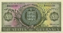 1 Pound GUERNESEY  1969 P.45a SUP