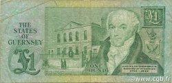1 Pound GUERNESEY  1980 P.48a TB