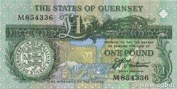 1 Pound GUERNESEY  1991 P.52b NEUF