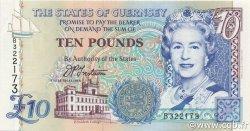 10 Pounds GUERNESEY  1995 P.57a pr.NEUF