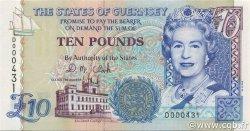 10 Pounds GUERNESEY  1995 P.57b SPL+