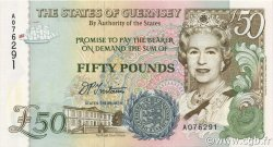 50 Pounds GUERNESEY  1994 P.59