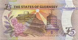 5 Pounds GUERNESEY  2000 P.60 SPL