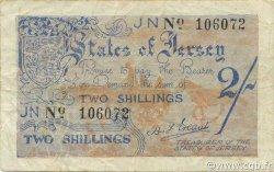 2 Shillings JERSEY  1941 P.03a TB à TTB