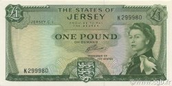 1 Pound JERSEY  1963 P.08b pr.NEUF