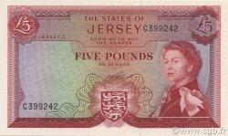 5 Pounds JERSEY  1963 P.09b NEUF