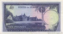 10 Pounds JERSEY  1972 P.10a SUP à SPL