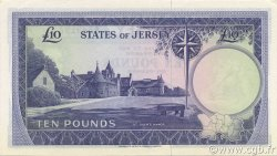 10 Pounds JERSEY  1972 P.10a NEUF