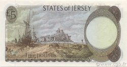 5 Pounds JERSEY  1983 P.12b NEUF